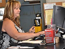 Our Service Writer at Glenn's Auto Service
